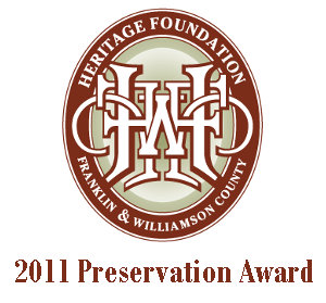 Preservation Award