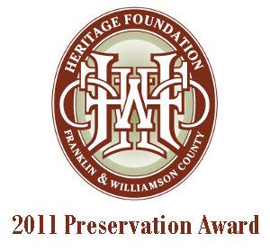 Preservation Award