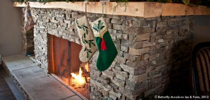 Christmas Enchantment at Butterfly Meadows Inn and Farm